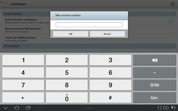 Samsung P7500 Galaxy Tab 10-1 - SMS - Handmatig instellen - Stap 6