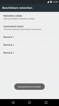 Motorola Moto X Style - Netwerk - Handmatig netwerk selecteren - Stap 13