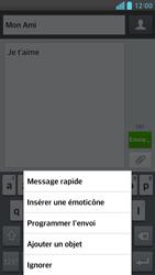 LG Optimus F6 - Contact, Appels, SMS/MMS - Envoyer un MMS - Étape 10