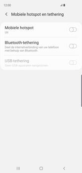 Samsung Galaxy S10 - Internet - Stel mobiele hotspot in - Stap 6