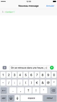 Apple iPhone 7 Plus - Contact, Appels, SMS/MMS - Envoyer un SMS - Étape 7