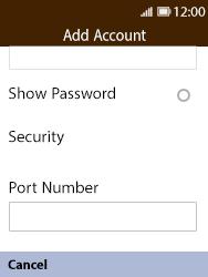 Nokia 8110 Banana - Email - Manual configuration POP3 with SMTP verification - Step 12