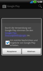LG Optimus Black - Apps - Konto anlegen und einrichten - 17 / 19