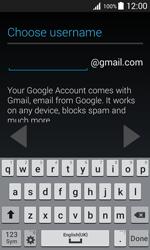 Samsung J100H Galaxy J1 - Applications - Create an account - Step 9