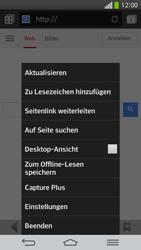LG D955 G Flex - Internet und Datenroaming - Verwenden des Internets - Schritt 8