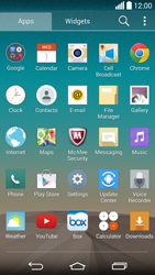 LG G3 - Applications - Setting up the application store - Step 3