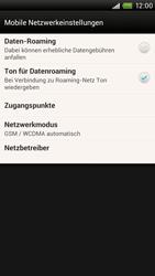 HTC One X - Netzwerk - Manuelle Netzwerkwahl - Schritt 5