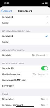 Apple iPhone XS - iOS 13 - E-mail - e-mail instellen: IMAP (aanbevolen) - Stap 24