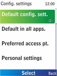 Nokia X2-00 - Internet - Automatic configuration - Step 8