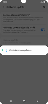 Samsung Galaxy A50 - Software update - update installeren zonder PC - Stap 6