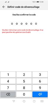 Huawei Y6 (2019) - Sécuriser votre mobile - Activer le code de verrouillage - Étape 7