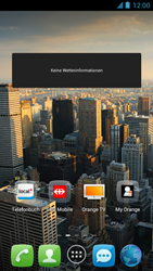Alcatel One Touch Idol - Startanleitung - Installieren von Widgets und Apps auf der Startseite - Schritt 7