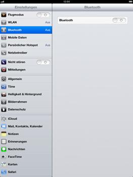 Apple iPad Retina - Bluetooth - Verbinden von Geräten - Schritt 6