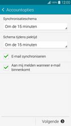 Samsung G901F Galaxy S5 4G+ - E-mail - Handmatig instellen - Stap 17