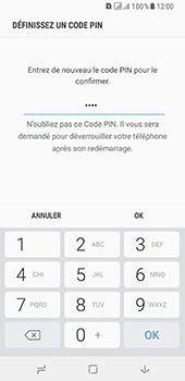 Samsung Galaxy A8 - Sécuriser votre mobile - Activer le code de verrouillage - Étape 10