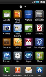 Samsung I9000 Galaxy S - Buitenland - Bellen, sms en internet - Stap 4