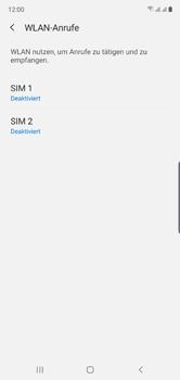 Samsung Galaxy Note 10 - WiFi - WiFi Calling aktivieren - Schritt 7