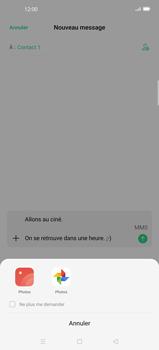 Oppo Find X2 Pro - Contact, Appels, SMS/MMS - Envoyer un MMS - Étape 15