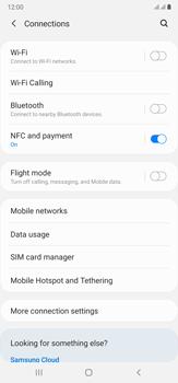 Samsung Galaxy Note 20 Ultra 5G - Internet and data roaming - Disabling data roaming - Step 5