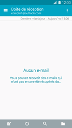 Samsung Galaxy S 5 - E-mail - 032c. Email wizard - Outlook - Étape 4