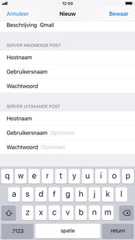 Apple iPhone 8 Plus - iOS 12 - E-mail - Account instellen (POP3 zonder SMTP-verificatie) - Stap 14