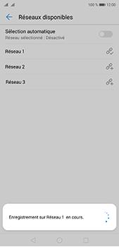 Huawei P20 Pro - Réseau - Sélection manuelle du réseau - Étape 10