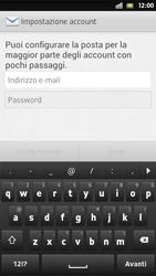 Sony Xperia S - E-mail - Configurazione manuale - Fase 5
