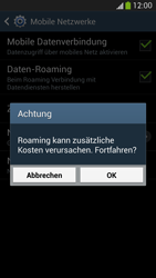 Samsung Galaxy S4 LTE - Ausland - Im Ausland surfen – Datenroaming - 9 / 12