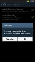 Samsung I9505 Galaxy S4 LTE - Ausland - Im Ausland surfen – Datenroaming - Schritt 9