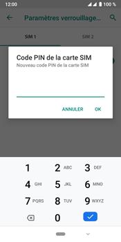 Crosscall Core X4 - Sécuriser votre mobile - Personnaliser le code PIN de votre carte SIM - Étape 9