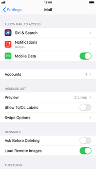 Apple iPhone 6s Plus - iOS 14 - E-mail - 032b. Email wizard - Yahoo - Step 9