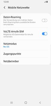 Samsung Galaxy S9 - Android Pie - Netzwerk - Netzwerkeinstellungen ändern - Schritt 8