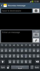 Samsung Galaxy Grand 2 4G - Contact, Appels, SMS/MMS - Envoyer un SMS - Étape 5