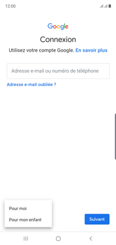 Samsung Galaxy Note 10 - Applications - Créer un compte - Étape 6