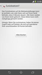 Sony Xperia M2 - Fehlerbehebung - Handy zurücksetzen - 2 / 2