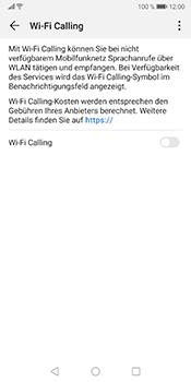 Huawei Mate 10 Pro - Android Pie - WiFi - WiFi Calling aktivieren - Schritt 7