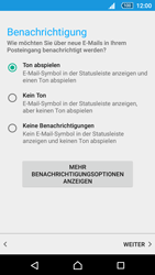Sony Xperia Z5 Compact - E-Mail - Manuelle Konfiguration - Schritt 20