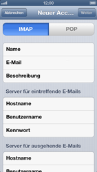 Apple iPhone 5 - E-Mail - Konto einrichten - 2 / 2