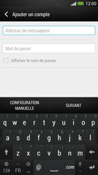 HTC One - E-mail - Configuration manuelle - Étape 7