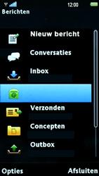Sony Ericsson U5i Vivaz - E-mail - hoe te versturen - Stap 4