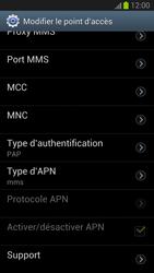 Samsung Galaxy S III - MMS - Configuration manuelle - Étape 13