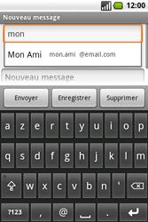 Samsung I7500 Galaxy - E-mail - envoyer un e-mail - Étape 6