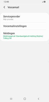 Samsung galaxy-s8-sm-g950f-android-pie - Voicemail - Handmatig instellen - Stap 8