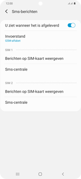 Samsung Galaxy S20 Plus 5G Dual SIM eSIM SM-G986B - SMS - Handmatig instellen - Stap 10