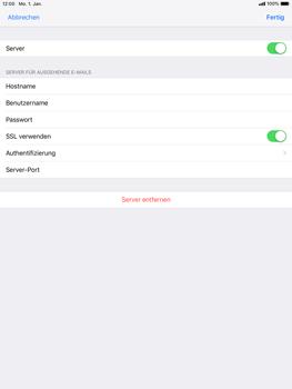 Apple iPad Pro 9.7 inch - E-Mail - Konto einrichten - 18 / 27