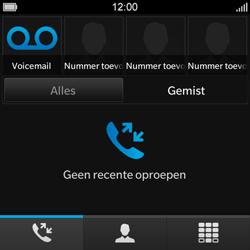 BlackBerry Q10 - Voicemail - Handmatig instellen - Stap 4
