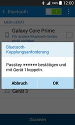 Samsung G360F Galaxy Core Prime - Bluetooth - Geräte koppeln - Schritt 9