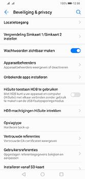 Huawei Y7 (2019) - Beveiliging - pas de pincode voor je simkaart aan - Stap 5