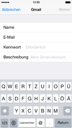 Apple iPhone 5s - E-Mail - Konto einrichten (gmail) - 7 / 12