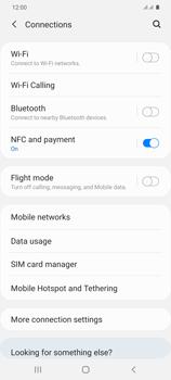 Samsung Galaxy S20 Plus 5G - Internet and data roaming - Disabling data roaming - Step 5